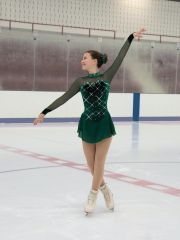 Jerry's Once Upon a Pine Figure Skating Dress