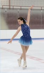 Jerry's Mist and Mirrors Figure Skating Dress