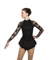 Jerry's Obsidiana Figure Skating Dress
