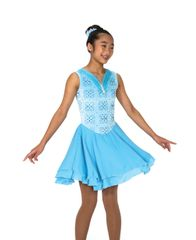 Jerry's Glittering Glaciers Dance Dress
