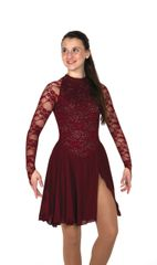 Jerry's Dubonnet Dance Dress