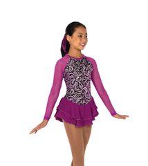 Jerry's Swirl On Figure Skating Dress
