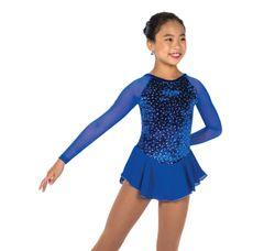 Jerry's Diamond Chips Figure Skating Dress