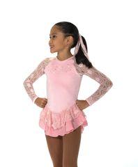 Jerry's Ribbon Lace Figure Skating Dress