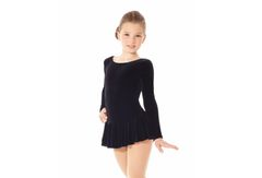 MONDOR Figure Skating Dress in Velvet for Examination