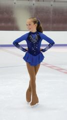 Jerry's Crystal Burst Figure Skating Dress