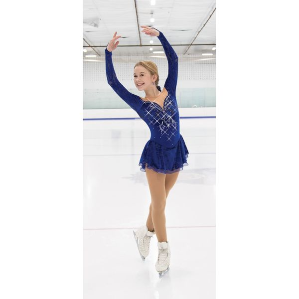 Jerry's Captivating Figure Skating Dress