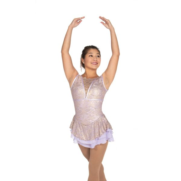 Jerry's Gilded Lilacs Figure Skating Dress