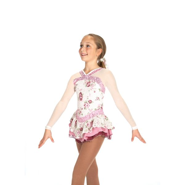 Jerry's Heirloom Roses Figure Skating Dress