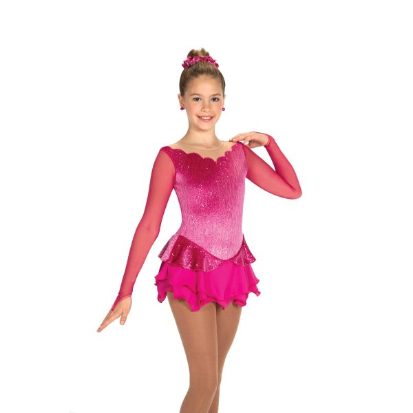 Jerry's Peony Petals Figure Skating Dress