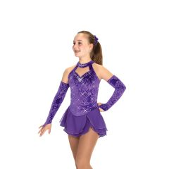 Jerry's Velvetry Figure Skating Dress