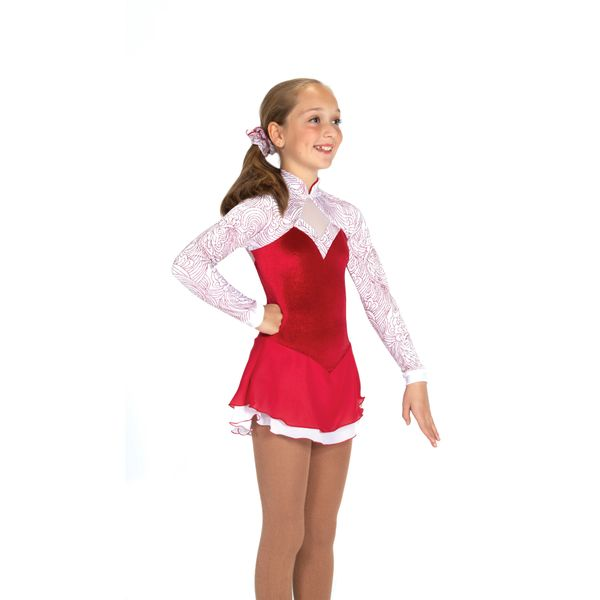 Jerry's Candy Apple Figure Skating Dress