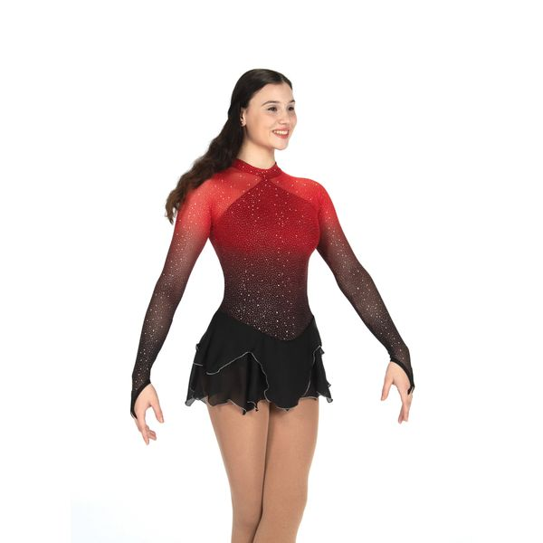 Jerry's Ruby Rising Figure Skating Dress