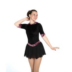 Jerry's Meet the Pleat Figure Skating Dress