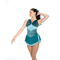 Jerry's Sweeping Seas Figure Skating Dress