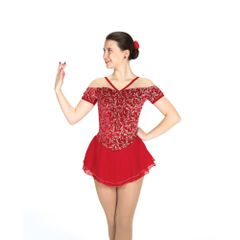 Jerry's Chanteuse Figure Skating Dress