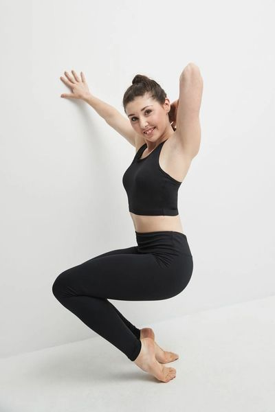 MONDOR Performance Legging with Formed Waistband