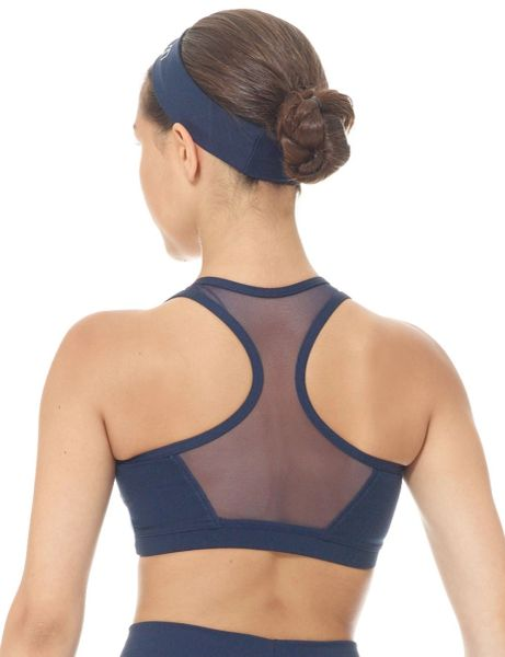 MONDOR Performance Matrix Crop Top