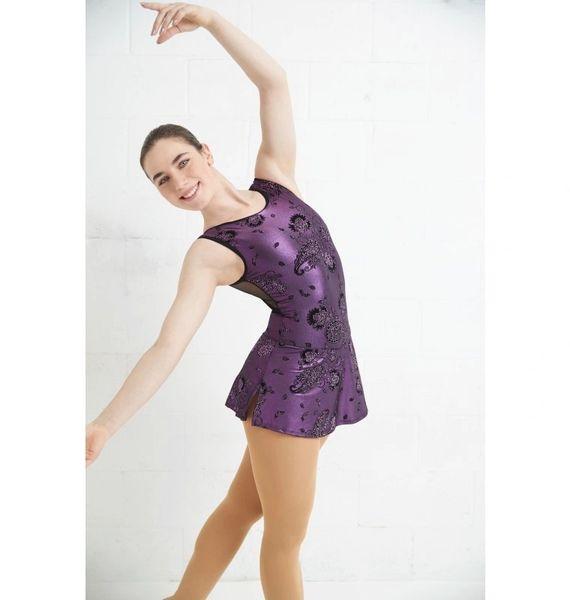 MONDOR Fantasy on Ice Glitter Figure Skating Dress
