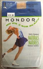 Mondor Suntan Heavyweight Stirrup Tights