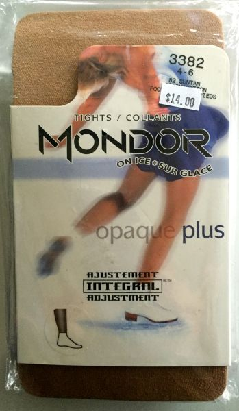 Mondor Suntan Heavy Weight Footless Tights