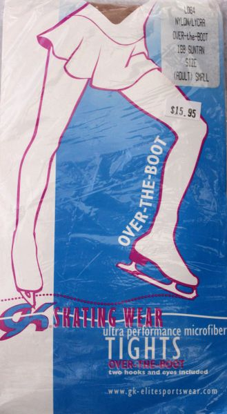 Over the Boot Suntan Tights by GK Elite