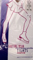Footed Figure Skating or Dance Tights GK Elite