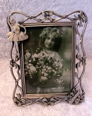 Dasha Ballet Pewter Picture Frame 4 by 6