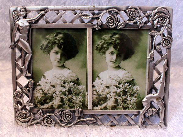 Dasha Dance Pewter Picture Frame 2.5 by 3.5 inches each