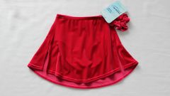 MONDOR Full Skating Skirt Rose Girls 6x-7
