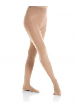 Mondor 3310 Figure Skating Tights Semi Opaque Footed