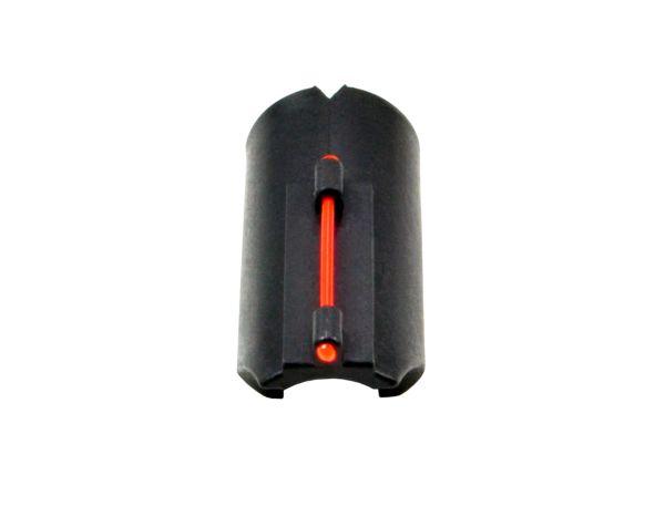 Snap-on Fiber Optic Front Sight Kit for 12/20 Gauge Shotguns, Red