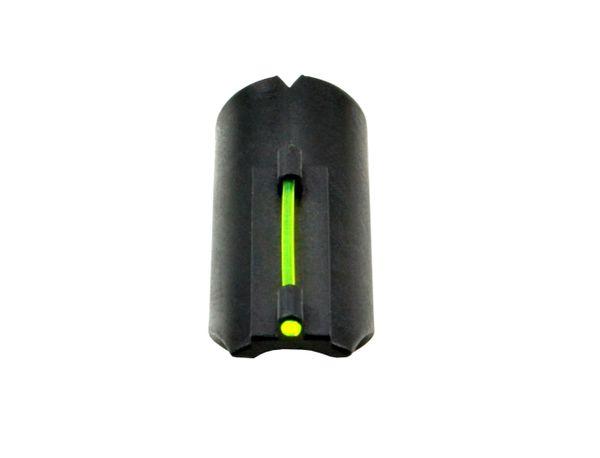 Snap-on Fiber Optic Front Sight Kit for 12/20 Gauge Shotguns, Green