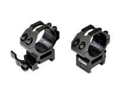 Presma® Wing Series, 30mm Quick Release Scope Rings, Medium Profile