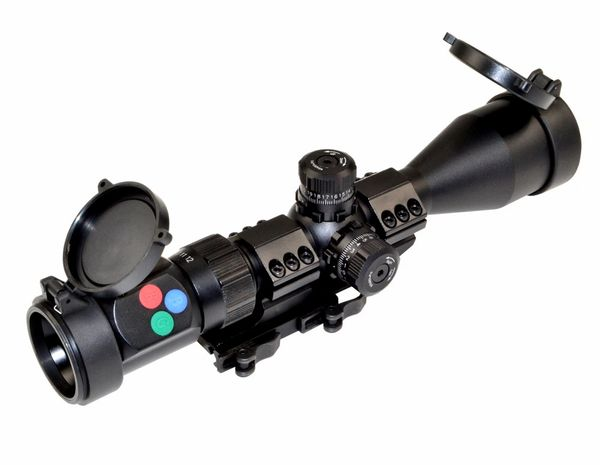 Presma® EX Professional Series 3-12X44 Precision Scope, RGB RXR Reticle