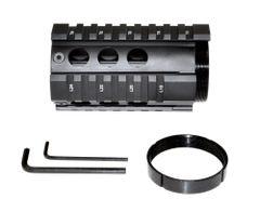"Sniper® Mini 4"" Short Free Float Quad Rail Handguard for .223 and 5.56"