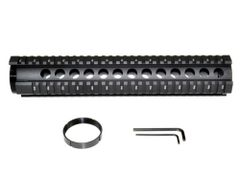 """Sniper® 12"""" Rifle Length Free Float Quad Rail Handguard for .223 and 5.56"""