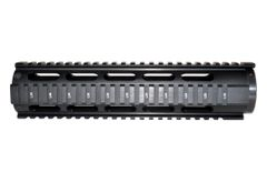 """Sniper® 10"""" Mid Length Free Float Quad Rail Handguard for .223 and 5.56, with end cap"""