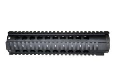 "Sniper® 10"" Mid Length Free Float Quad Rail Handguard for .223 and 5.56, no end cap."