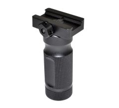 Aluminum Stubby Fore Grip with O ring Sealed Compartment