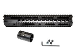 """12"""" Rifle Length Free Float Handguard with Full Quad Rail for .223 and 5.56"""