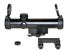 4X20MM Compact Rifle Scope with Duplex Reticle with Carry Handle Mount
