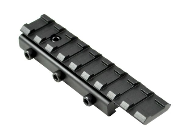 Sniper® Dovetail .22 to Picatinny RaiL Scope Mount Adaptor - 9 Slots