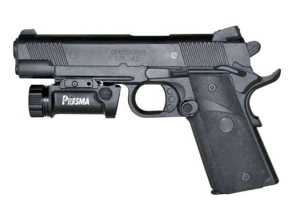Presma® Rail-Mounted Handgun Tactical Light (1000 Lumens)