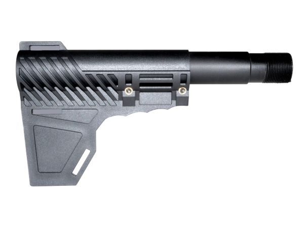 Brand New Patented Design from Presma Inc! Stabilizing Fin™ for Pistols, with Pistol buffer tube