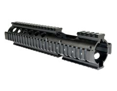 "Carbine Length with 3 Piece 10"" Drop In Handguard Quad Rail for .223 and 5.56, Replaces Stock 6.75"" to 7"""