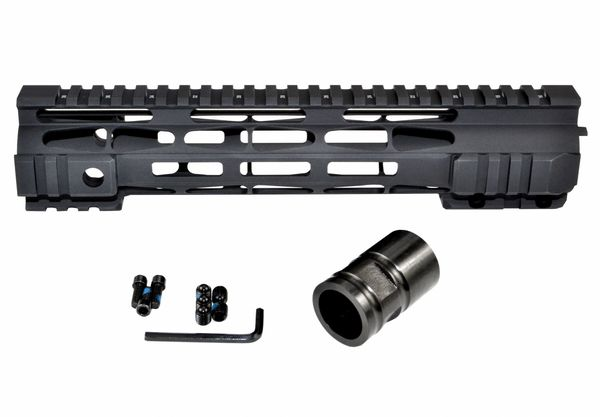Presma® M-LOK Series Slim Free Float Handguards for DPMS .308 High Profile Uppers, 10""