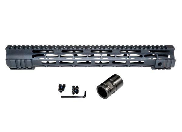 "Presma® .308 M-LOK Series Slim Free Float Handguards, 15"", for DPMS High Profile Uppers"
