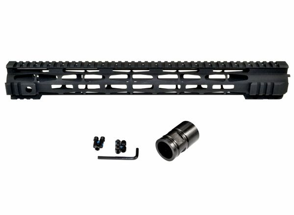 Presma® M-LOK Series Slim Free Float Handguards for DPMS .308 High Profile Uppers, 16.5""