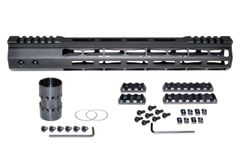 Presma® Super Light Weight Free Float M-LOK Handguard with Partial Top Rail for AR-15 .223/5.56, 13""